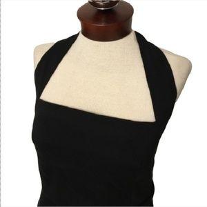 ARMANI COLLEZIONI $995 halter dress crossover 8